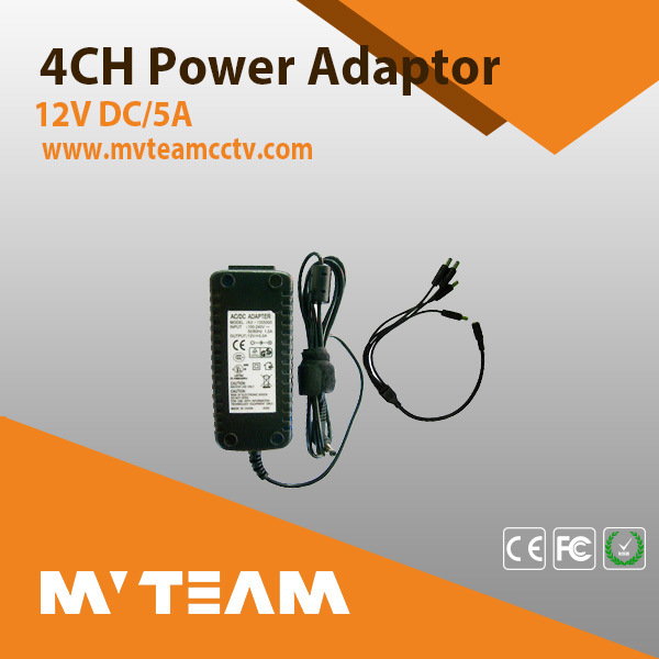 CCTV Camera Power Supply Mvteam CCTV Camera Accessories