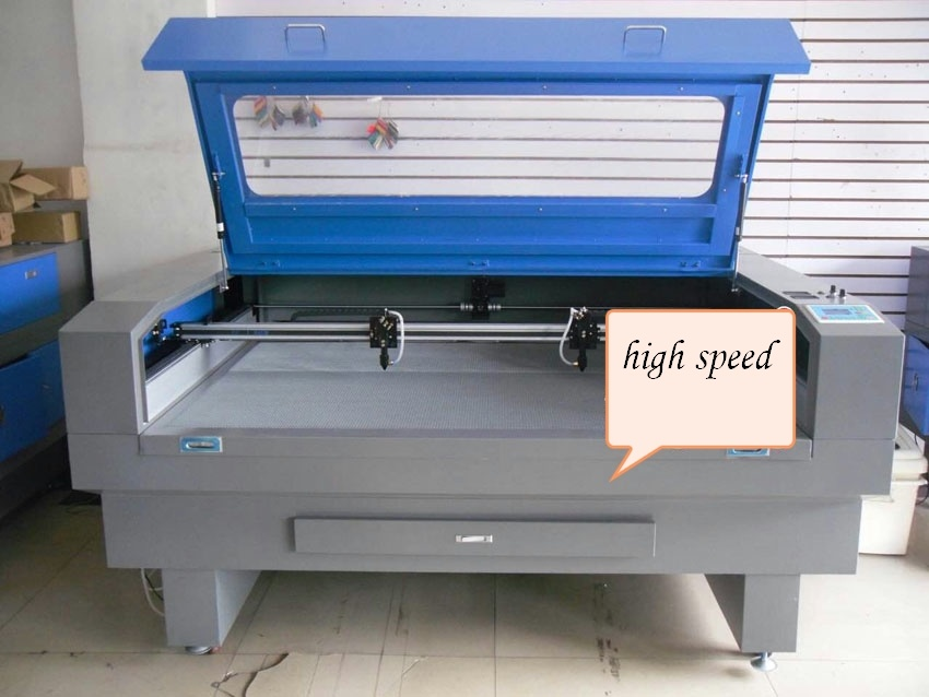 Two Cutting Heads Laser Cutting and Engrave Machine for Arylic, MDF, Fabric,