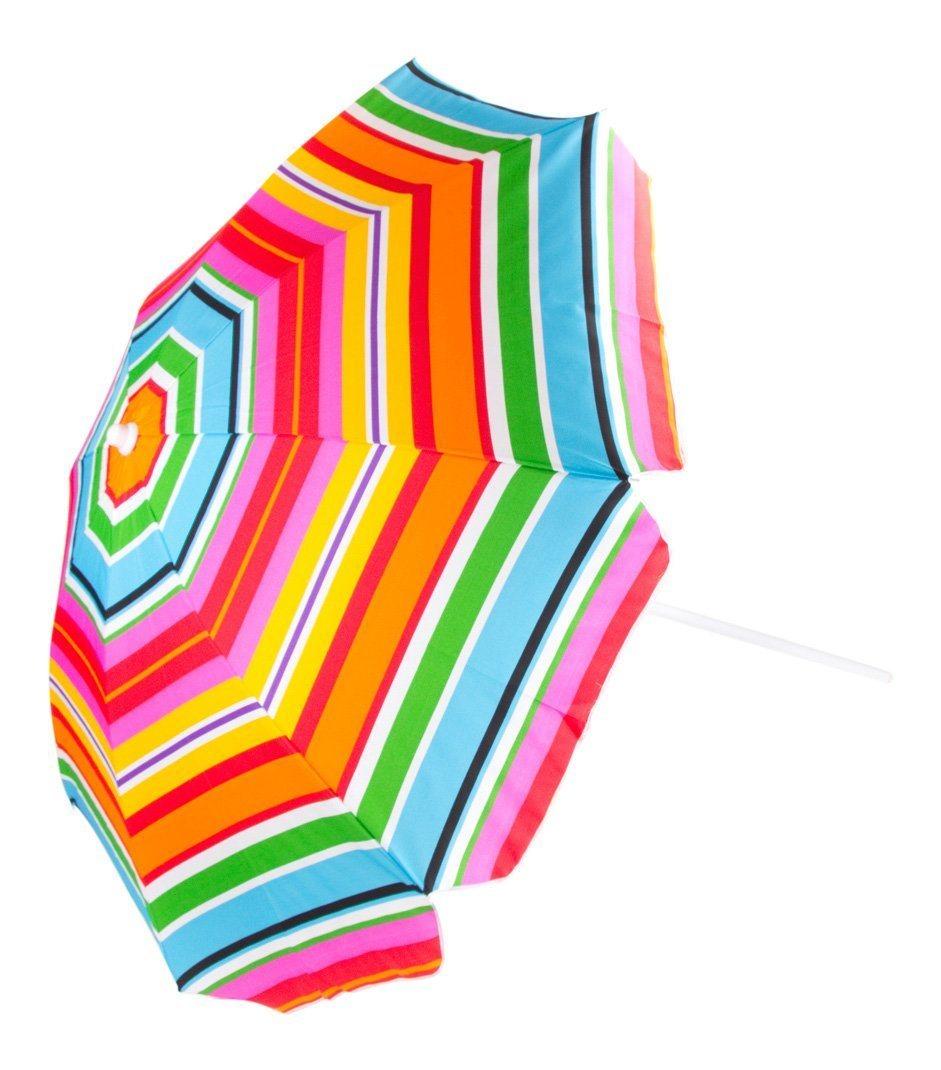 "80"" Beach Umbrella with Tilt and Carrying Bag"