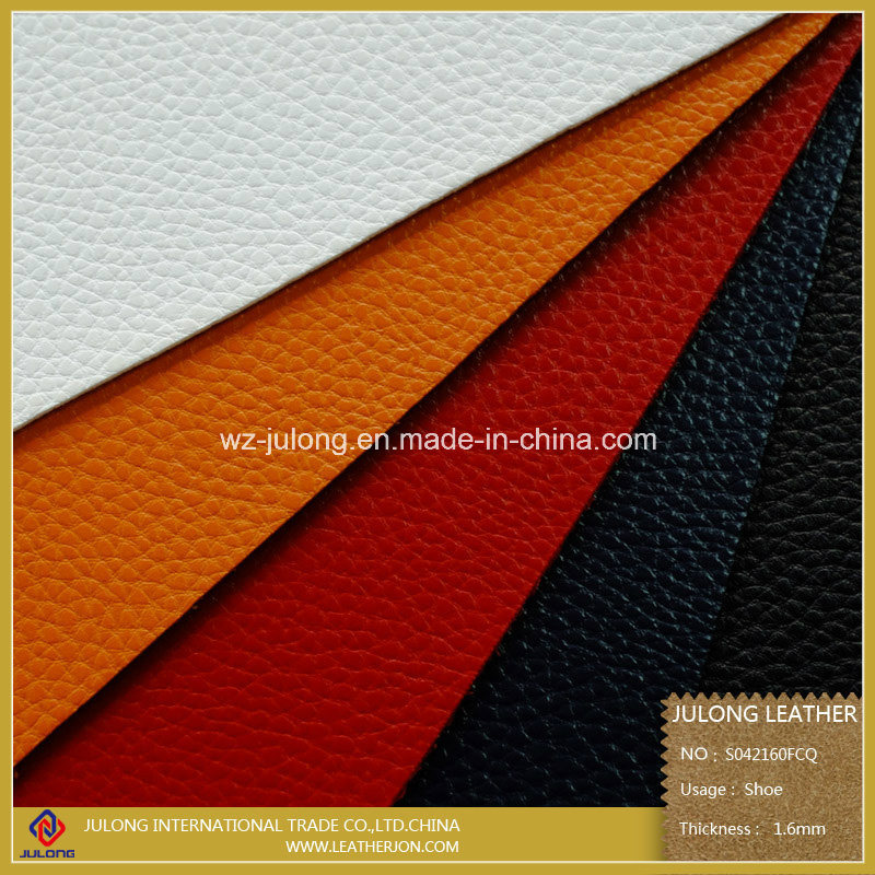 Thick Imitate Micro Fiber Leather for Shoes (S042)