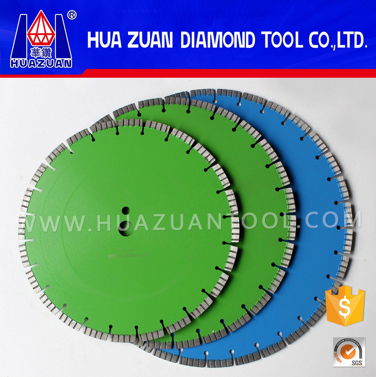 Diamond Concrete Saw Blades for Cutting Green Concrete
