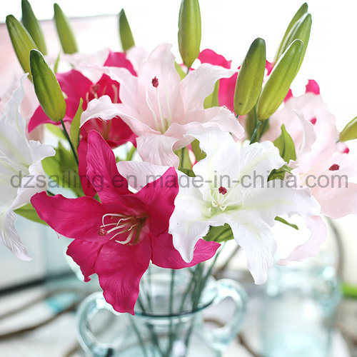 Unique Single Lily Flower for Wedding/Home/Garden Decoration (SY-302)