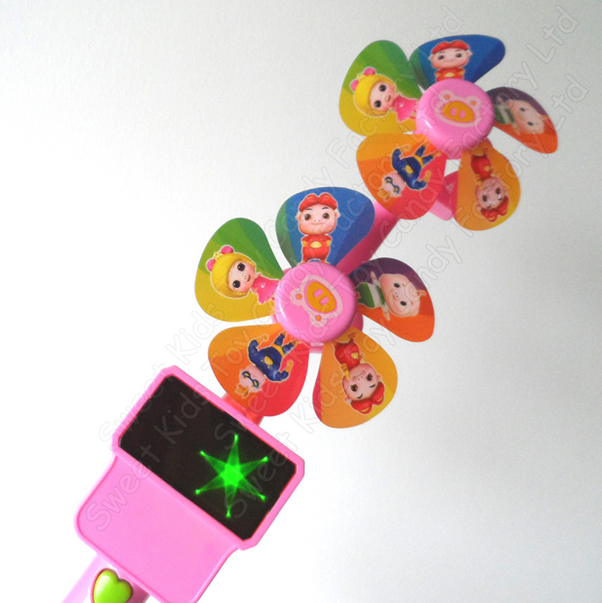 Musical Flash Windmill Candy Toys (131115)