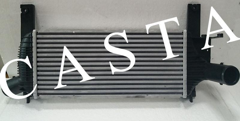 Nissna Navara (D40) 14461-Eb360 intercooler, radiator condenser.