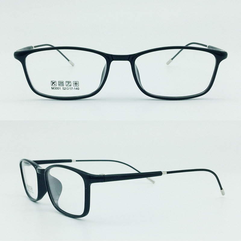 Factory Sell Super Light Half Plastic Steel Fashion New Design Optical Frames Glasses Eyewear