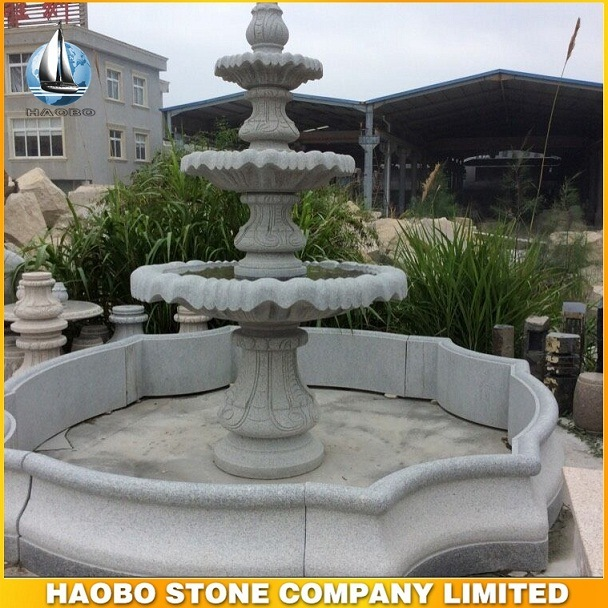 Stone Craving Garden Fountains Outdoor Water Fountain