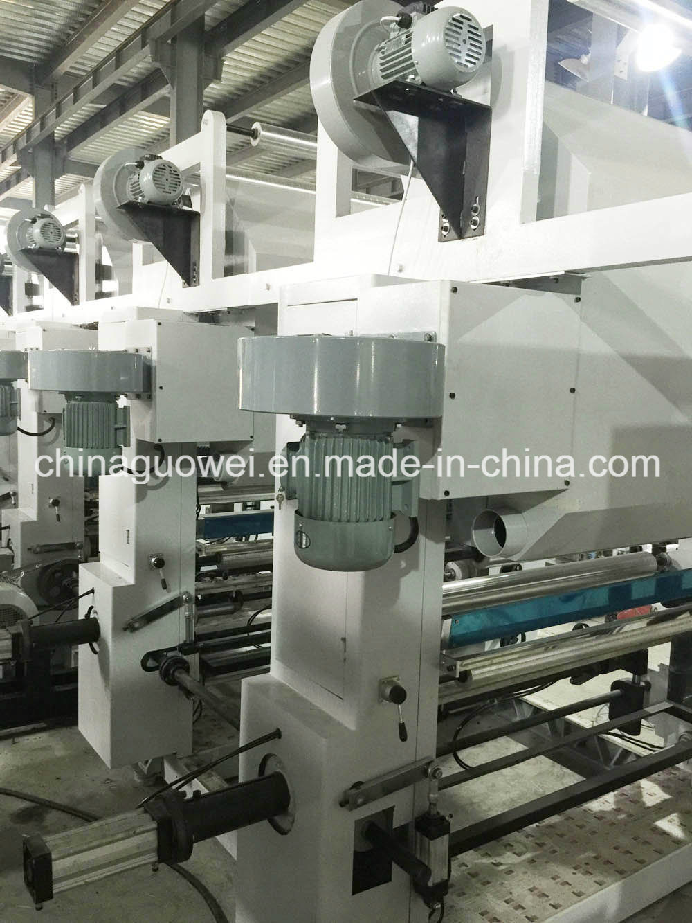 Economic Practical Computer Control Gravure Printing Press for Plastic Film