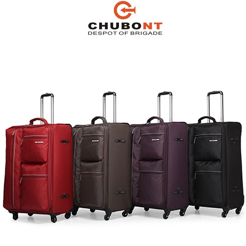 Chubont Hot Sell High Quality 4PCS Leisure Soft Luggage Set