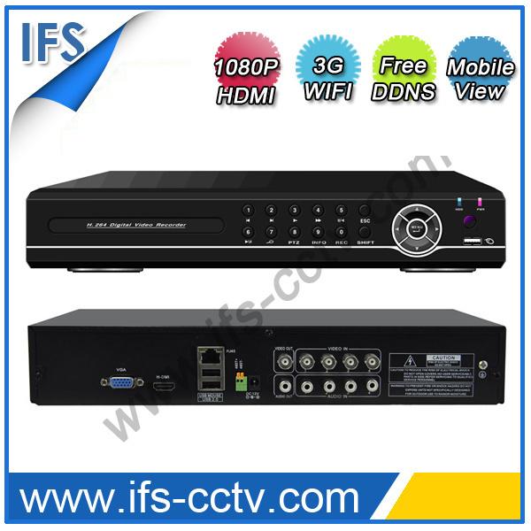 4CH H. 264 P2p 1080P HDMI Network CCTV DVR