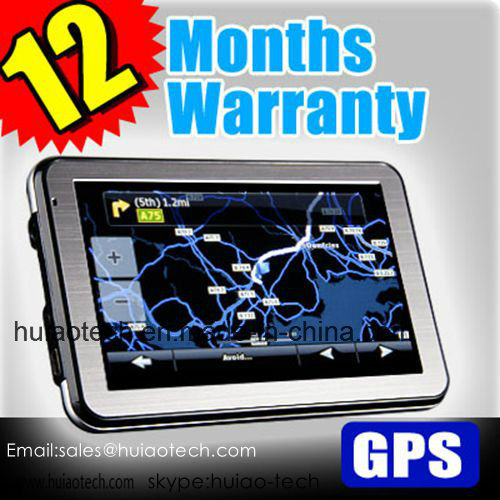 Hot 5.0 Inch HD Car Portable GPS Navigation with ISDB-T TV Bluetooth Tmc Receiver