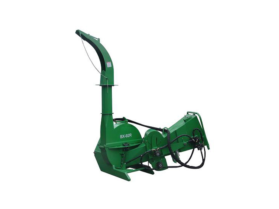 Wood Chipper Shredder Bx92r, Pto Driven, 680kg Weight, Branches/ Leaf Chipper, Ce Approved
