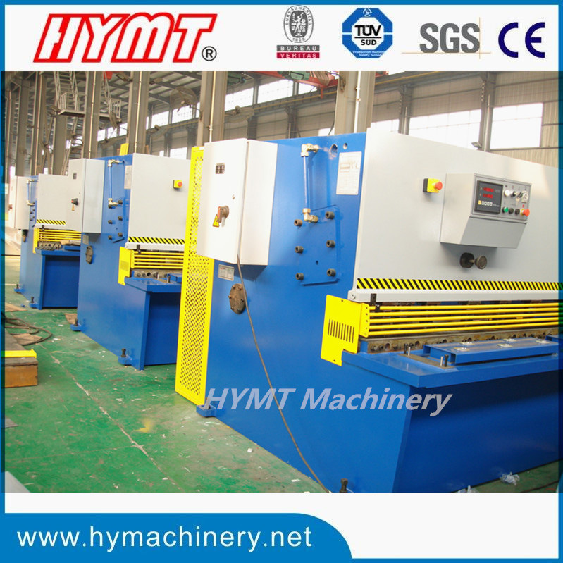 QC12Y-20X3200 Hydraulic swing beam shearing cutting machine