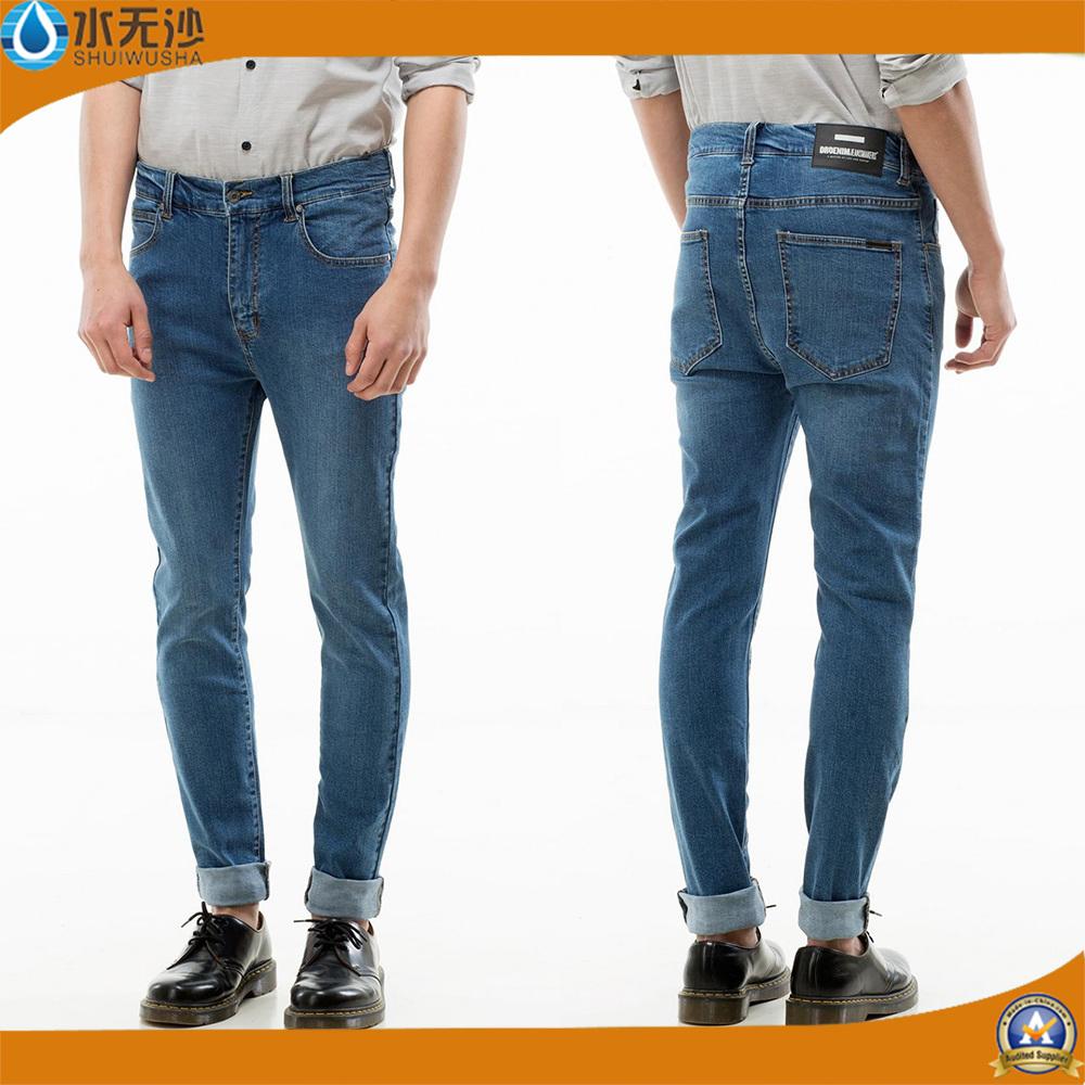Factory OEM Fashion Men Denim Jeans Basic Skinny Denim Pants