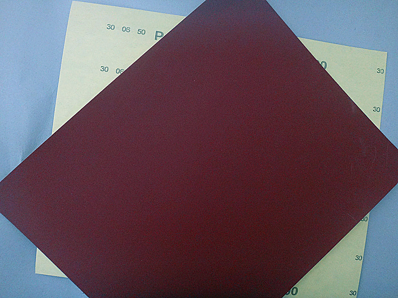 Aluminum Oxide C-Wt Yellow Latex Paper for Auto Industry FM38 400#