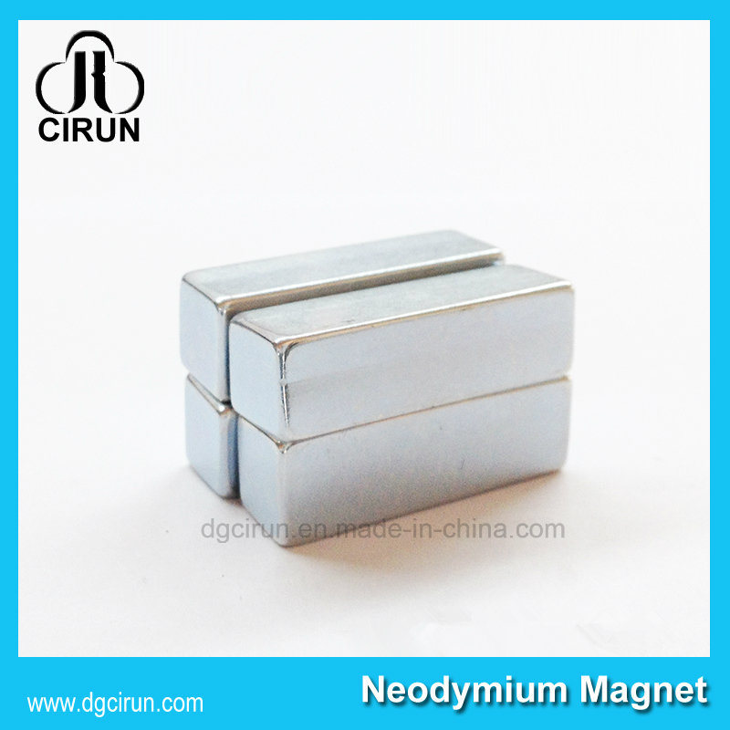 Custom Block Shape N35 Strong Neodyium Magnet for Windmill