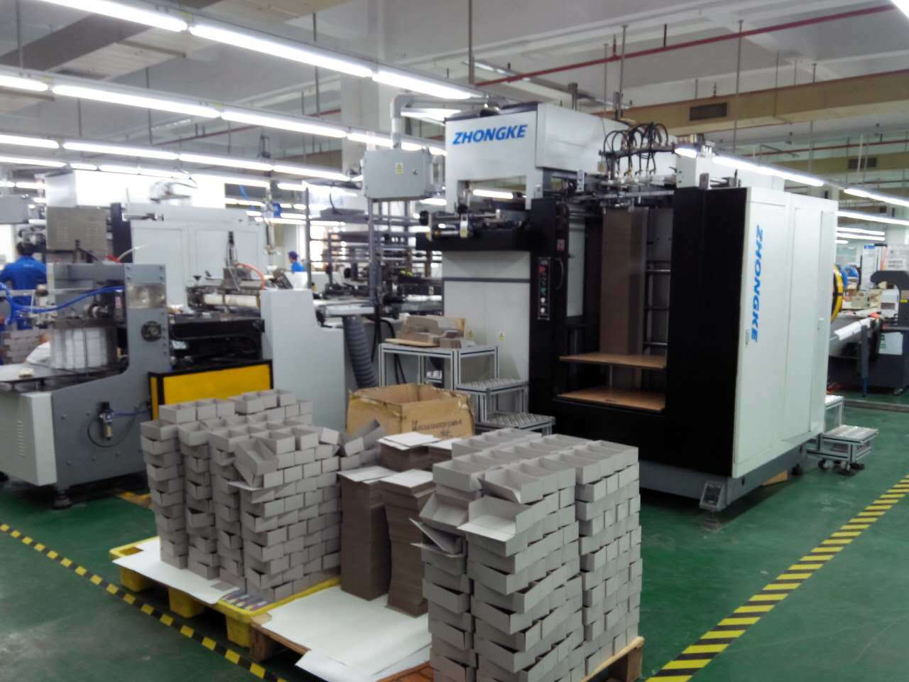 Zk-660anp Self-Developed Rigid Box Making Machine (approved CE)