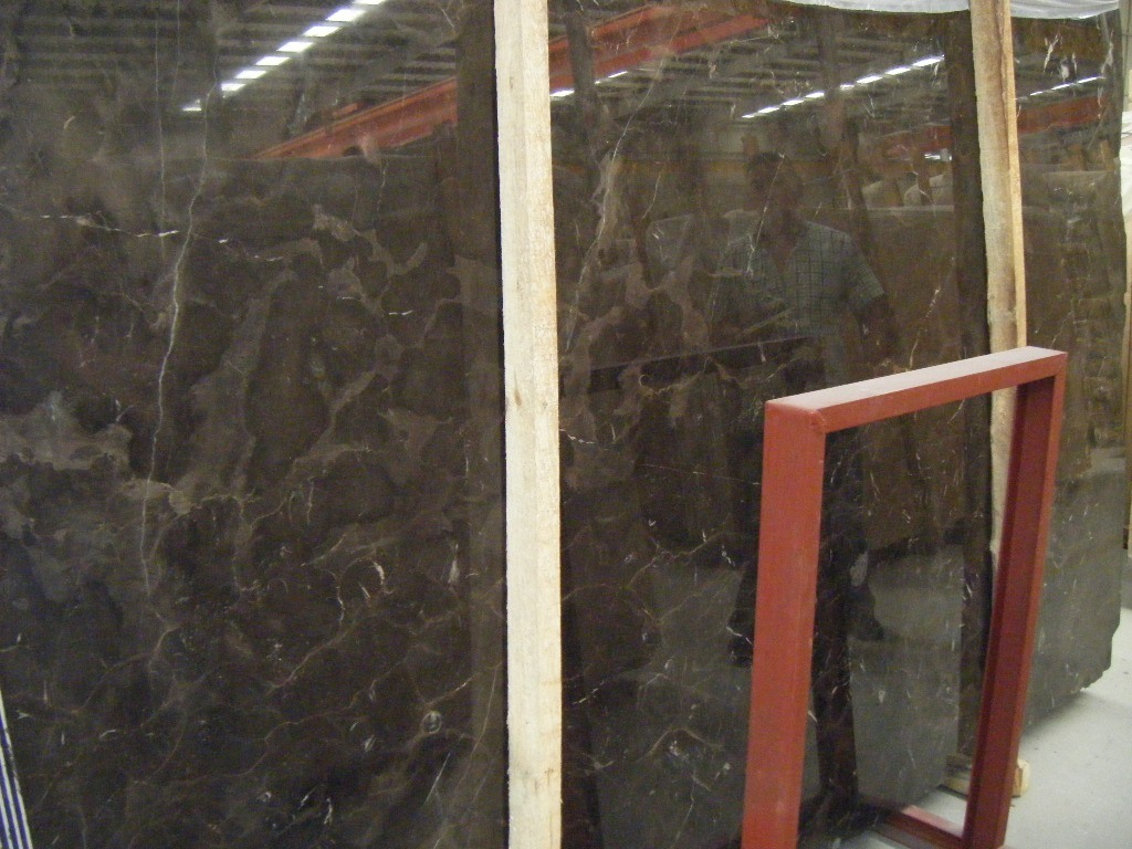 China Dark Emperador Marble Vanity Tops for Bathroom, Kitchen