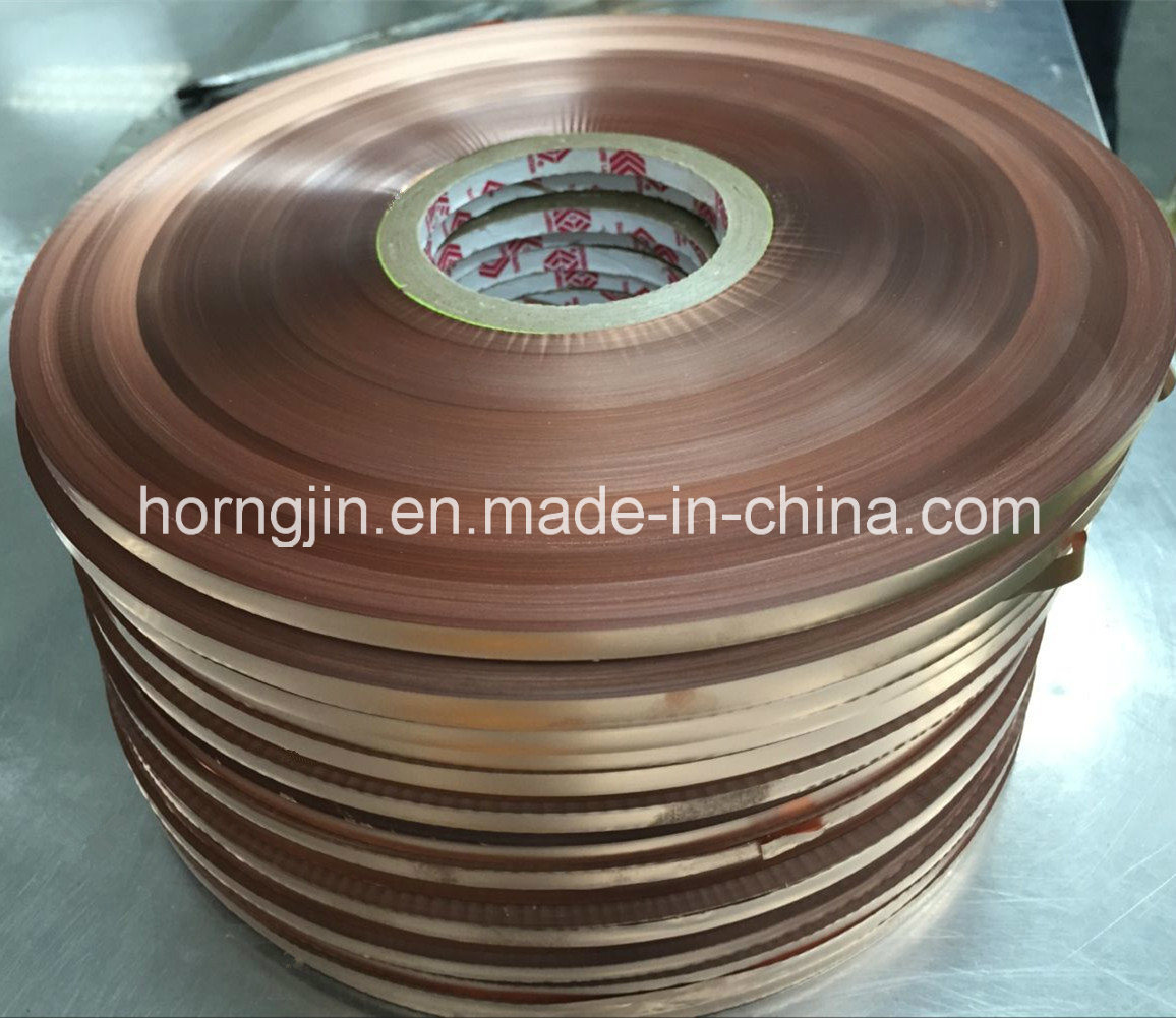 Hot Sale Polyester Insulation Cu/Pet Shielding Strip Tapes Copper Foil for Coaxial Cable