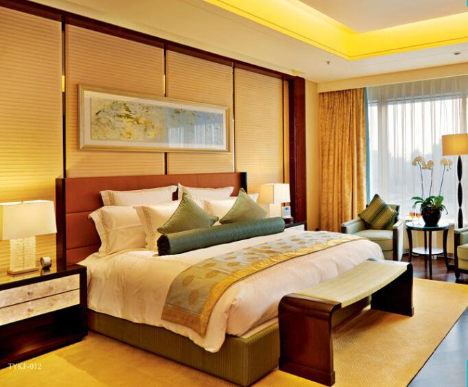 Luxury Star Hotel President Bedroom Furniture Sets/Standard King Single Room Furniture/Modern Classic Single Room Furniture (GL-00001)