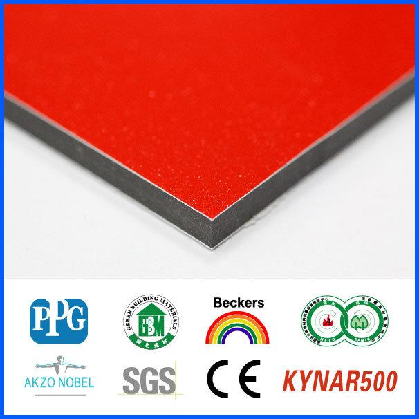 PVDF Exterior Aluminum Composite Sheet Cladding Manufacturer