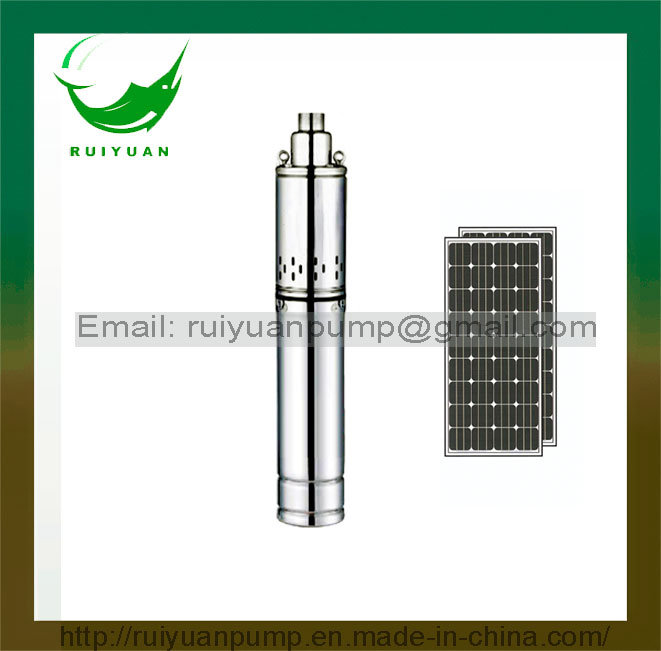 3 Inch 12V 100W 32FT DC Solar Screw Submersible Water Pump