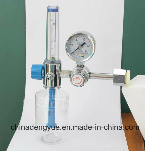 High Quality Medical Oxygen Regulator with Humidifier for Cylinder