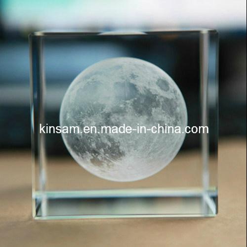Crystal Cube 3D Laser Blank Crystal Cube (KS11025)