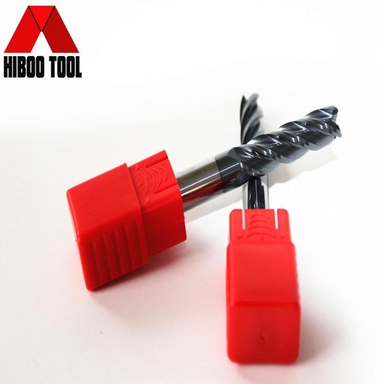 4z Long Cutting Flutes HRC55 Square Milling Carbide Cutter