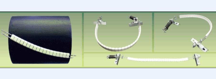 Excellent Cleaning Efficiency 1200mm Belt Width Ceramic Belt Scraper Cleaner