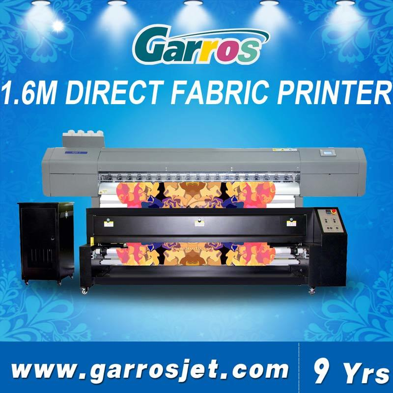 Garros Ajet1601d Direct to Fabric Printer with Pigment /Sublimation Ink with Heating Machine