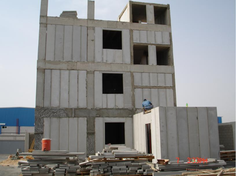 Non-Toxic Moisture-Proof EPS Sandwich Wall Panel