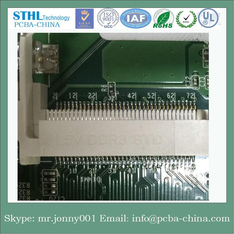 GPS Module Mainboard PCBA, PCB Board for Shenzhen