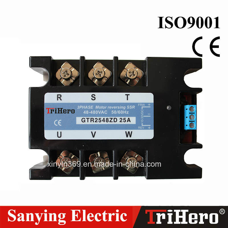 40A DC Input Three-Phase Motor Reversing SSR Solid State Relay