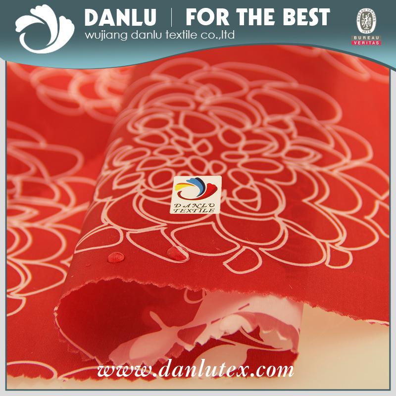 PU Coated Nylon Taffeta Label Fabric