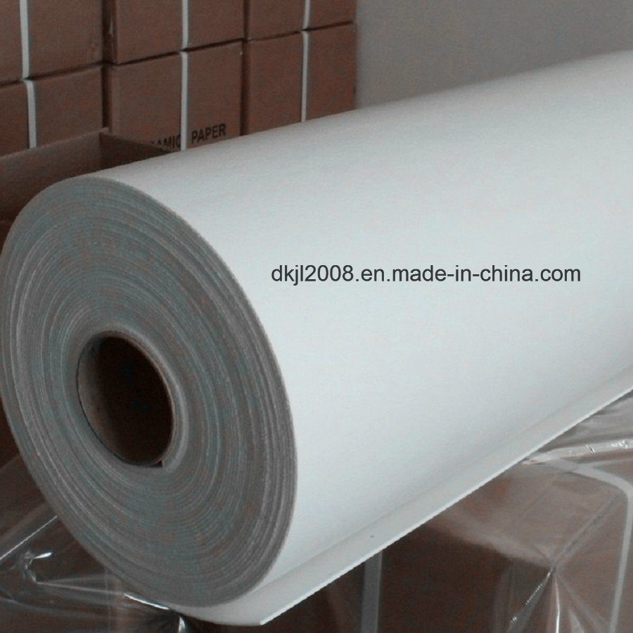 High Alumina Fire Resistant Thermal Insulation Ceramic Fiber Paper