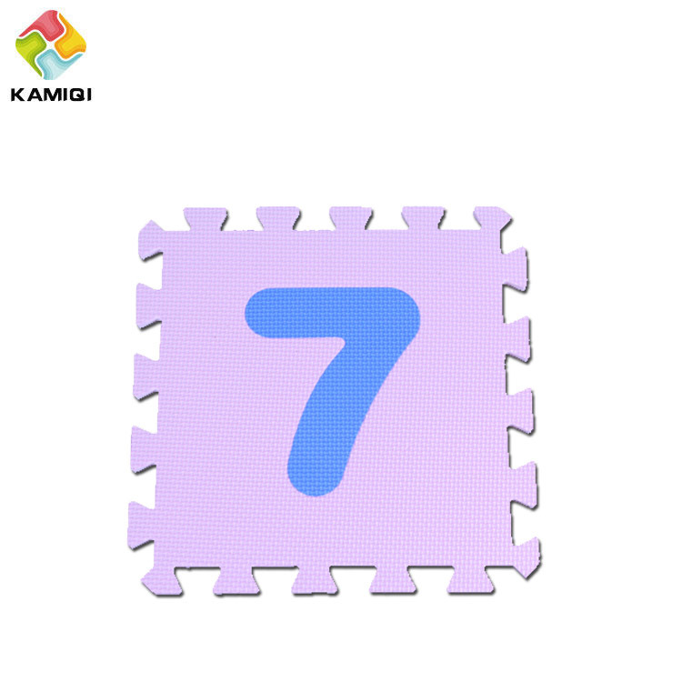 Baby Enducation EVA Gym Foam Number Mat
