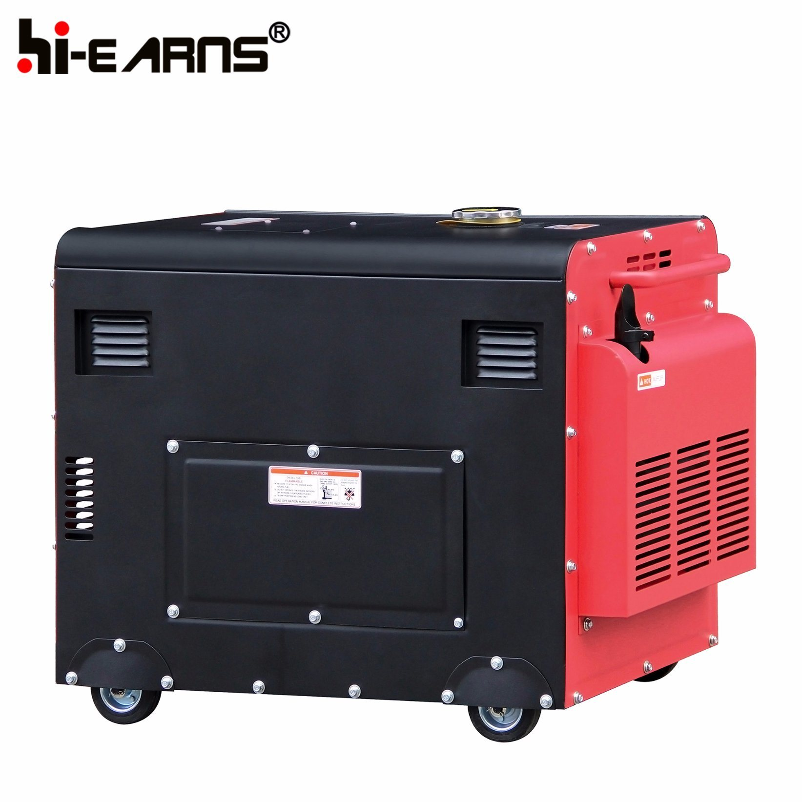 China 5 5kw Portable Silent Diesel Engine Power Generator Price