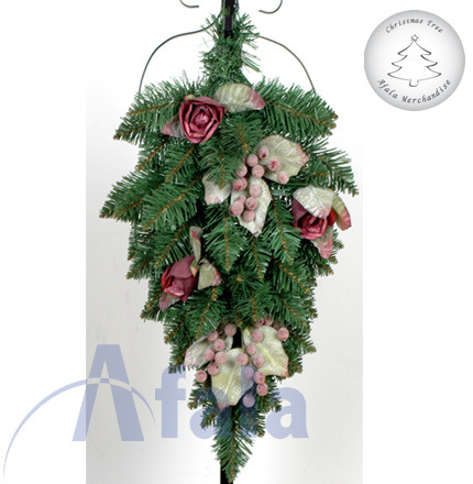 Christmas swag garlands china christmas garlands for Christmas swags and garlands to make