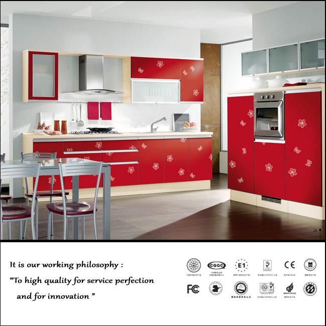 Modern UV High Glossy Kitchen Cabinet (ZH091)