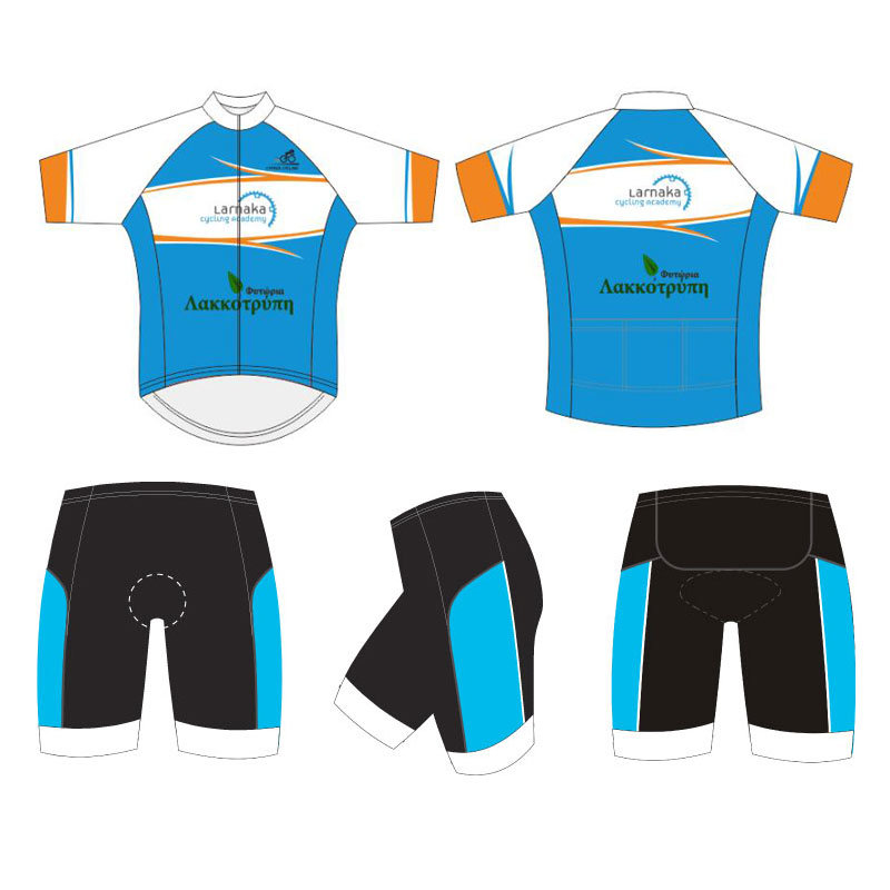 Full Zipper Sublimation Sports Cycling Wear with Your Own Design