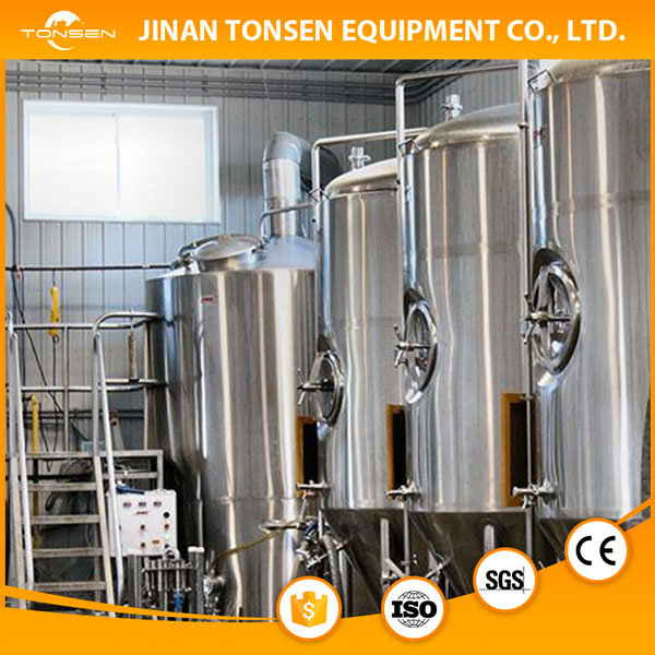 Customized Sanitary Beer Brewing Equipment High Garde