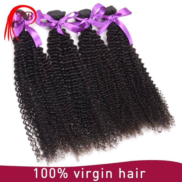 Peruvian 100% Virgin Human Hair Afro Kinky Hair Extensions