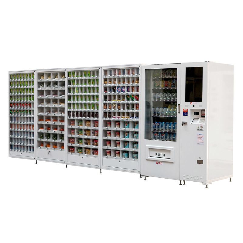 Multi-Media Combo/Beverage/Snack Vending Machine