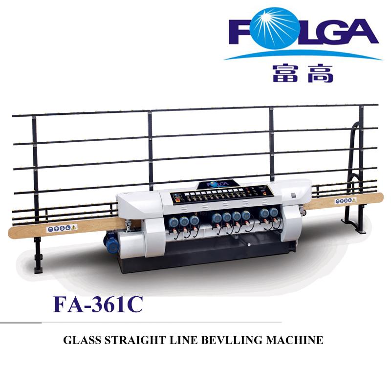 Glass Straight Line Beveling Machine (FA-361C)