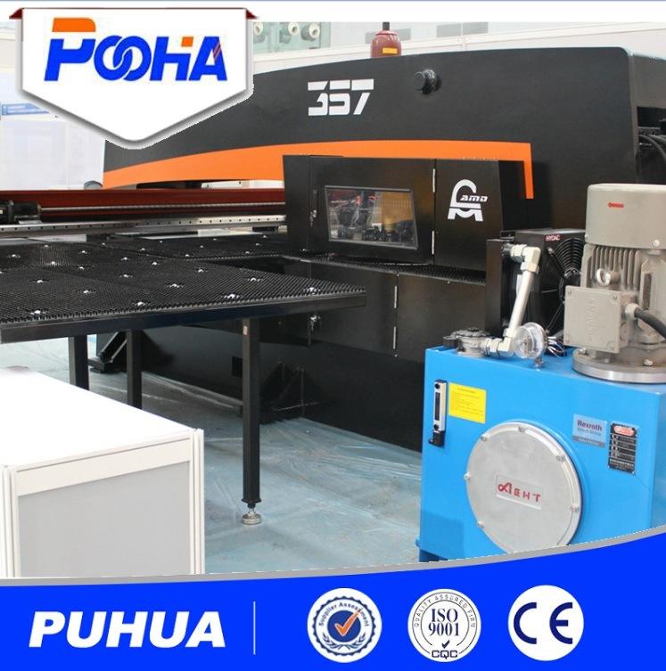 Amada AMD-357 Hydraulic CNC Turret Punching Press Machine