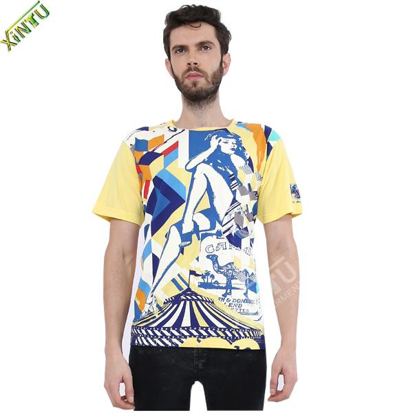 China 2014made by factory eco friendly wholesale full for Wholesale t shirt printing china