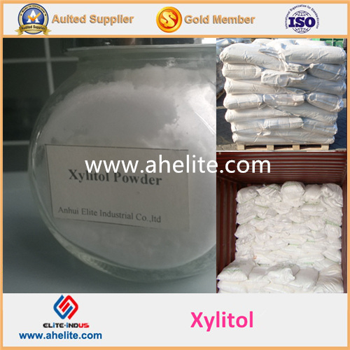 Natural Food Additive Sweetener Xylitol Powder (10-30 30-80 Mesh)