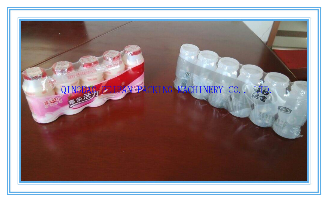 Automatic Yakult, Beverage Bottle Shrink Wrapping/ Packing Machine