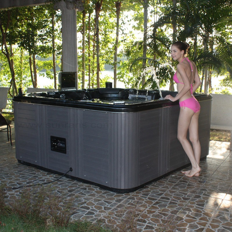 china luxury balboa system outdoor massage spa hot tub. Black Bedroom Furniture Sets. Home Design Ideas