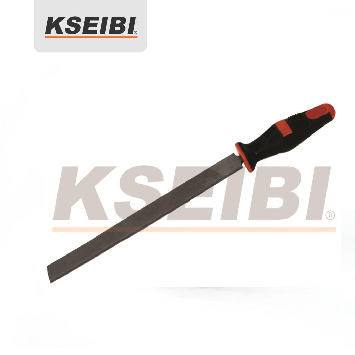 Abrasive Hand Tool Kseibi Steel Half Round Files with Handle